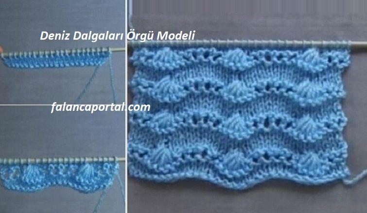 Deniz Dalgalari Orgu Modeli 1