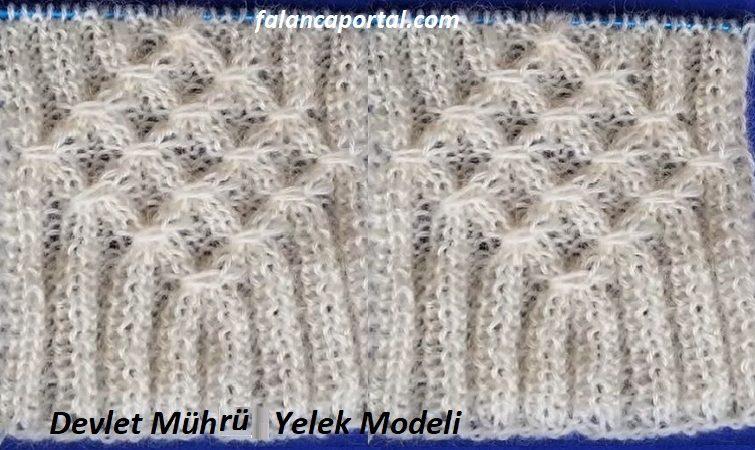 Devlet Muhru Yelek Modeli 1