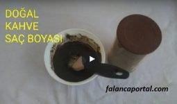 Evde Dogal Kahve Sac Boyasi 1