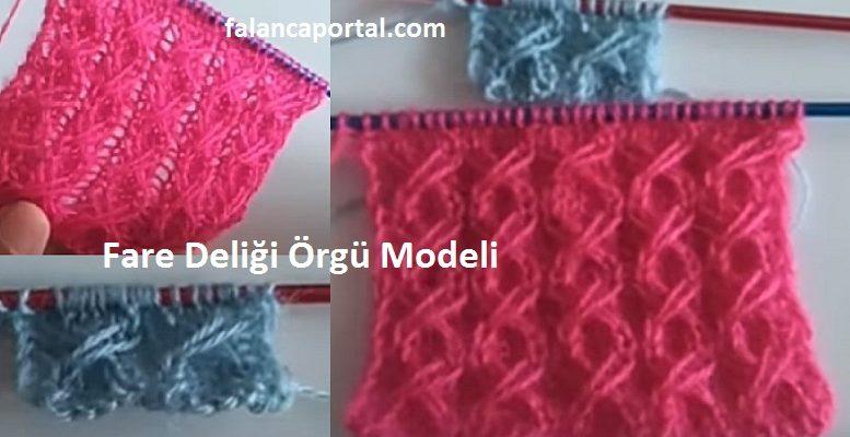 Fare Deligi Orgu Modeli 1