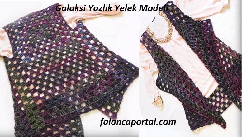 Galaksi Yazlık Yelek Modeli