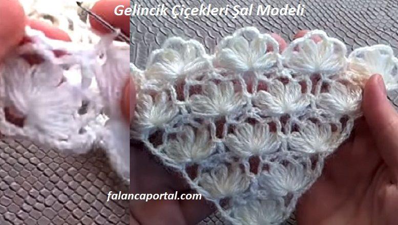 Gelincik Çiçekleri Şal Modeli