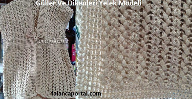 Guller Ve Dikenleri Yelek Modeli 1