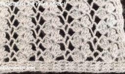 Güz Gülleri Tığ Yelek Modeli 1