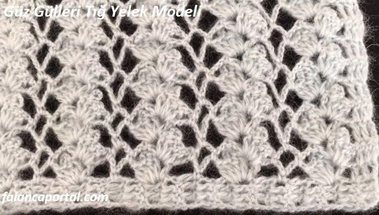 Guz Gulleri Tig Yelek Modeli