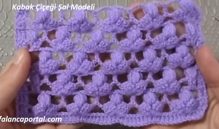 Kabak Çiçeği Şal Modeli 1
