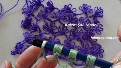 Kalem Şalı Modeli