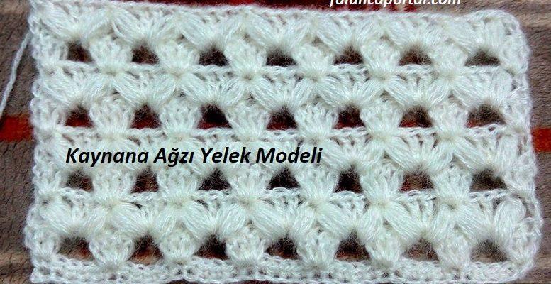 Kaynana Agzi Yelek Modeli 1