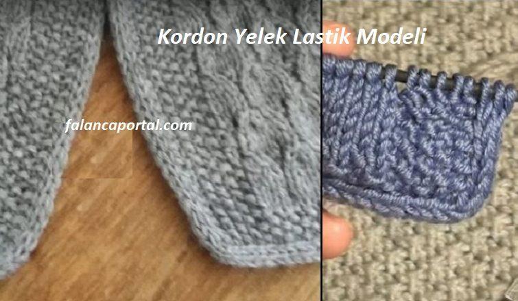Kordon Yelek Lastik Modeli 1
