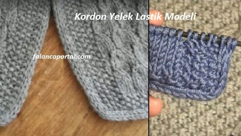 Kordon Yelek Lastik Modeli
