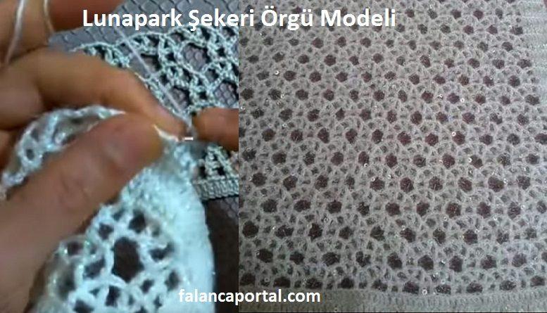 Lunapark Şekeri Örgü Modeli