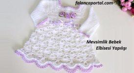 Mevsimlik Bebek Elbisesi Yapılışı 1