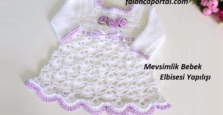 Mevsimlik Bebek Elbisesi Yapilisi 1