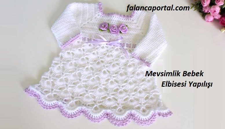 Mevsimlik Bebek Elbisesi Yapılışı