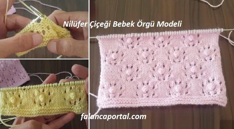 Nilufer Ciceg Bebek Orgu Modeli 1
