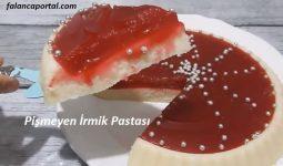 Pişmeyen İrmik Pastası 1