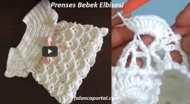 Prenses Bebek Elbisesi 1