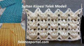 Sultan Küpesi Yelek Modeli 1
