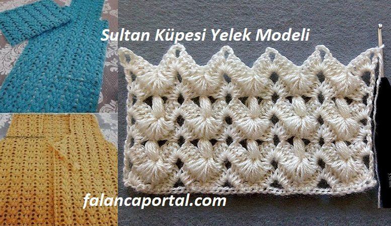 Sultan Küpesi Yelek Modeli