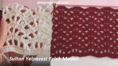 Sultan Yelpazesi Yelek Modeli