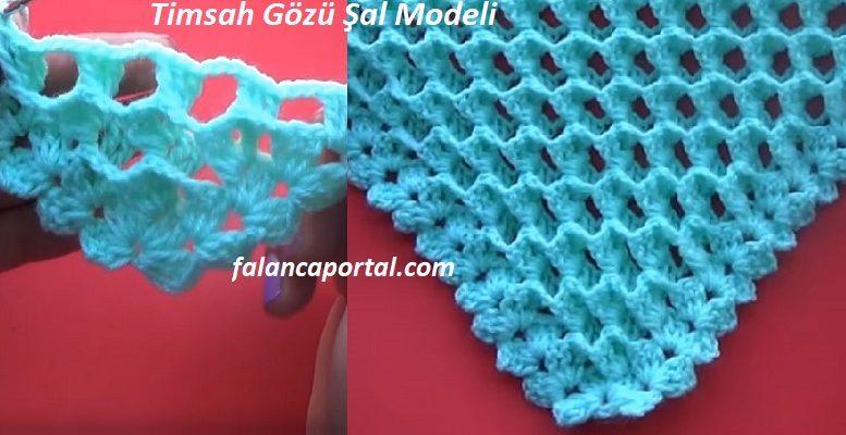 Timsah Gozu Sal Modeli 1
