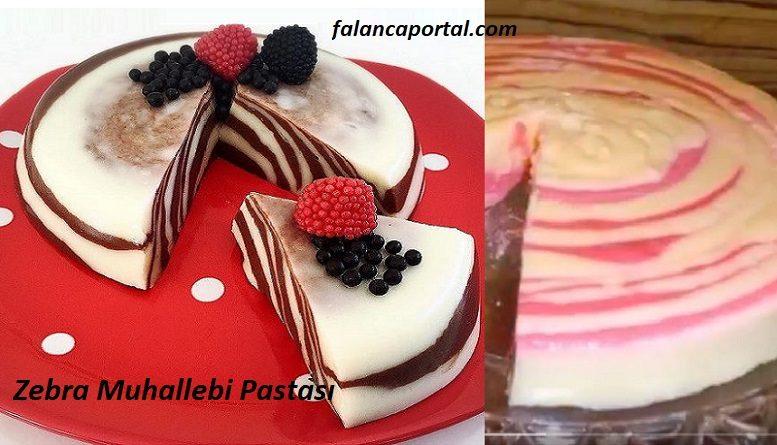 Zebra Muhallebi Pastası