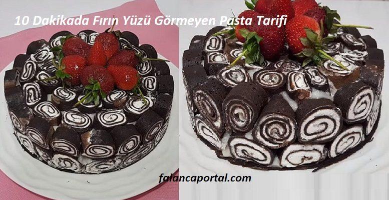 10 Dakikada Firin Yuzu Gormeyen Pasta Tarifi 1