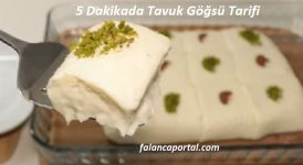 5 Dakikada Tavuk Göğsü Tarifi 1