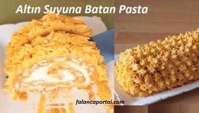 Altın Suyuna Batan Pasta 1