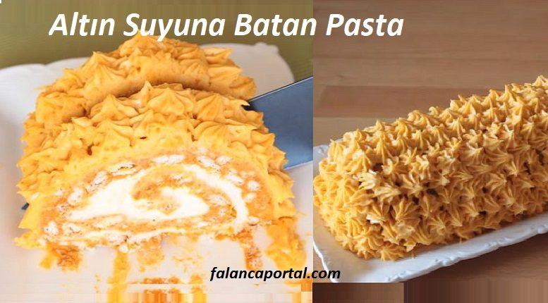 Altın Suyuna Batan Pasta