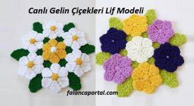 Canlı Gelin Çiçekleri Lif Modeli 1