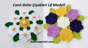 Canlı Gelin Çiçekleri Lif Modeli