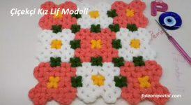 Çiçekçi Kız Lif Modeli 1