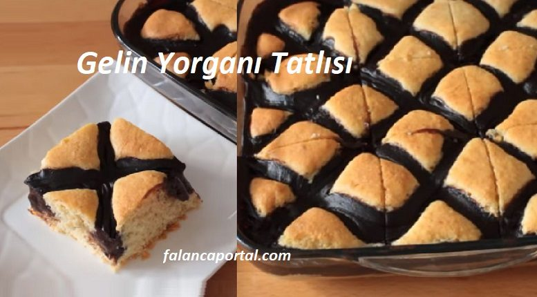 Enfes Yorgan Kek Tatlısı
