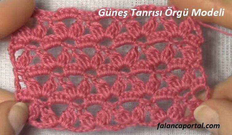 Gunes Tanrisi Orgu Modeli 1