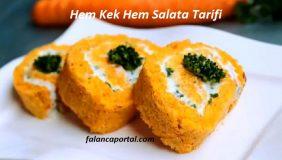 Hem Kek Hem Salata Tarifi 1