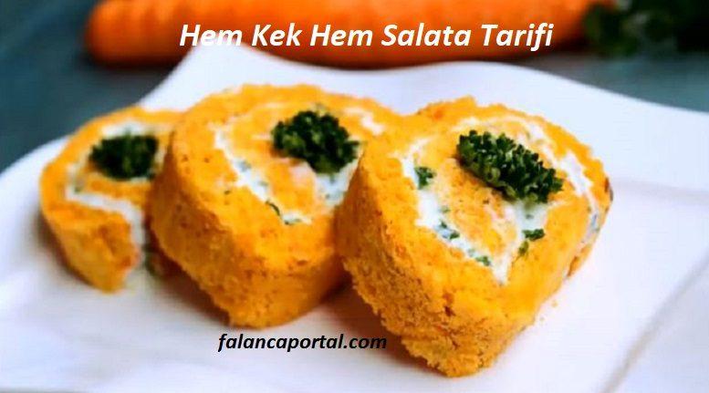 Hem Kek Hem Salata Tarifi