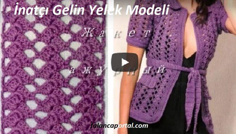 Inatci Gelin Yelek Modeli 1