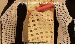 Küçük Localar Yelek modeli 1