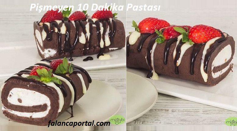 Pişmeyen 10 Dakika Pastası Tarifi