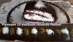 Pişmeyen 10 dakikada Hovarda Pastası 1