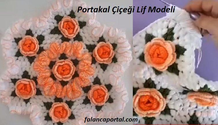 Portakal Çiçeği Lif Modeli 1