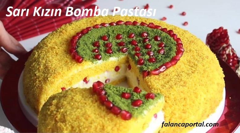 Sarı Kızın Bomba Pastası