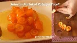 Solucan Portakal Kabuğu Reçeli
