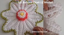 Söz Bohçası Çiçek Lif Modeli 1