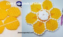 Çiçek İçinde Çiçek Lif Modeli 1