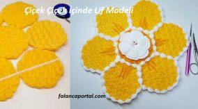 Çiçek İçinde Çiçek Lif Modeli