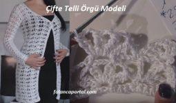 Cifte Telli Orgu Modeli 1