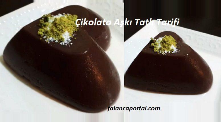 Çikolata Aşkı Tatlı Tarifi