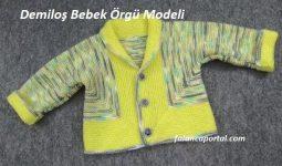 Demiloş Bebek Örgü Modeli 1